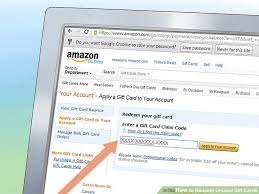 order gift cards 4 ways to redeem gift cards wikihow