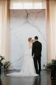 wedding backdrop trends sleek marble ceremony backdrop unique wedding backdrops
