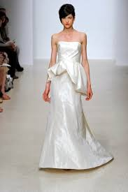 peplums the bridal fashion trend everyone is talking about