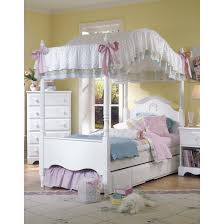 White Bedroom Furniture Sa Four Poster Bed With Wonderland Canopy For Kids In S A White By