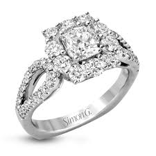 real diamond engagement rings lp2027 engagement ring custom simon g jewelry