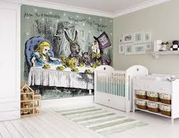 28 party wall murals cocktail party kitchen art mural party wall murals alice in wonderland tea party wall mural