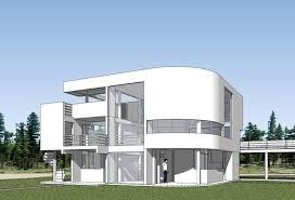 sketchup 3d architecture models saltzman house richard meier