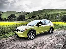 subaru xv green review 2014 subaru xv crosstrek hybrid ebay motors blog