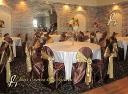 brown chair covers chicago chair covers for rental in chocolate in the lamour satin