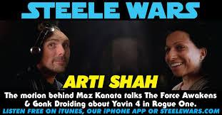 Arti Meme - ep 122 arti shah the motion behind maz kanata talks the force