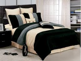 Blue Striped Comforter Set Black And Blue Bedding Sets Beige Blue And Black Luxury Stripe