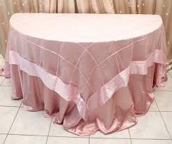 Lace Table Overlays Pink Ashley Style Overlay Right Choice Linen