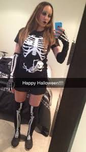 Pregnancy Halloween Costumes Skeleton Coolest Pregnant Skeleton Costume Skeletons Costumes