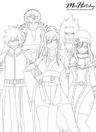 fairy tail coloring pages anime fairy tail coloring pages fairy