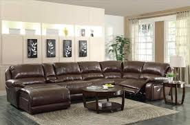 Brown Sectional Sofa With Chaise Leather Sofa Chaise With Reversible By Light Brown Sectional