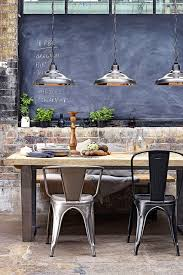 Industrial Dining Room Tables How To Create An Industrial Dining Room Decoholic