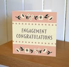 congratulations on engagement card engagement card floribunda mini card karenza paperie