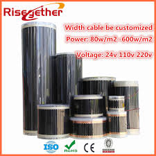 aliexpress com buy professional infrared carbon fiber underfloor