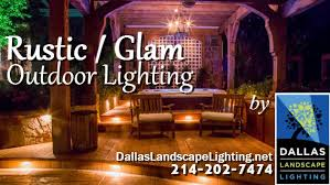 Dallas Landscape Lighting Rustic Glam Outdoor Lighting By Dallas Landscape Lighting