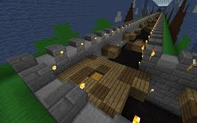 Minecraft Pe Maps Ios Great Wall Of China Parkour Minecraft Pe Maps