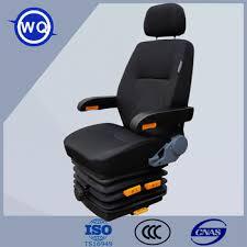 siege pneumatique tracteur grammaire tissu arrière réglable tracteur siège à suspension