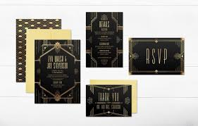 gatsby wedding invitations deco wedding invitations gatsby wedding invitations