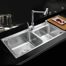 kitchen sink china kitchen sink decoration high quality wholesale stainless steel double bowl kitchen sink modern home luxury kitchen stainless steel sink vessel double bowl brass swivel chrome