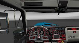 kenworth truck interior kenworth w900b long interior v1 0 american truck simulator
