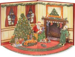 the night before christmas a book and paper doll fold out play