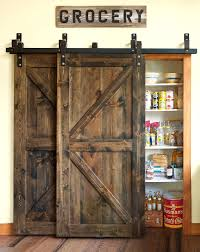 Closet Doors Barn Style Best 25 Barn Door Closet Ideas On Pinterest Bathroom Inside Style