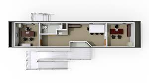 Trailer Floor Plans Single Wides 12 U0027 X 56 U0027 Designer Modular Office Trailers Modspace
