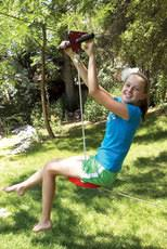 Zip Line For Backyard by Backyard Zip Lines Swingsetmall Com