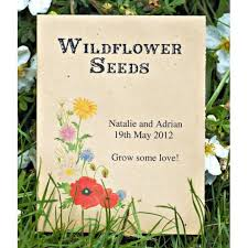 wildflower seed packets 32 best wedding favours images on wedding favours