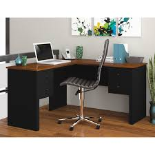 L Shaped Desks For Sale Monarch Hollow L Shaped Desk With Frosted Glass Hayneedle