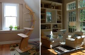 Modern Cat Trees Furniture by Awesome Contemporary Cat Trees From Revel Zoo U2022 Hauspanther