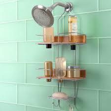 Bathroom Caddies Shower Totally Bath Sleek Bamboo Shower Caddy Apartment Pinterest