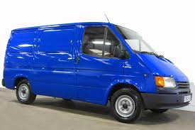 van ford transit e reg ford transit spy van sells for more than 10 000 at auction