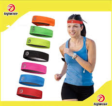 sports hair bands 2018 sweat band bands hid logo sports hair tie band athletic