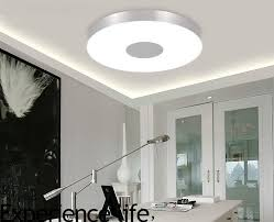modern bedroom floor ls modern ceiling l lighting dia36cm round aluminum tempered glass