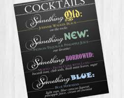 something something new something borrowed something brewed something blue etsy