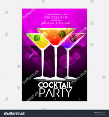 creative abstract party flyer nice creative stock vector 634347314