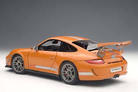 orange porsche 911 autoart die cast model porsche 911 997 gt3 rs 4 0 orange 78148