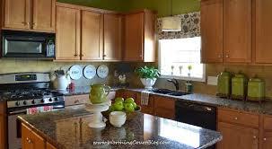 kitchen tree ideas farmhouse kitchen touches and a diy faux shade