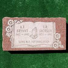 flat grave markers flat marker quincy memorials inc