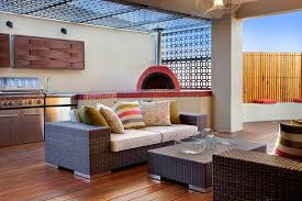 laser cut steel partition patio contemporary with wall art linen