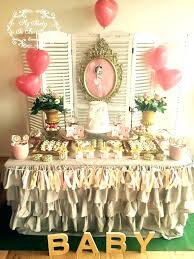 vintage baby shower decorations vintage decorating ideas for party leonardpadilla