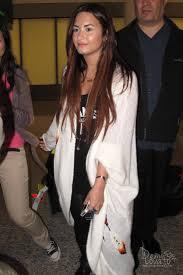 demi lovato tattoo cross demi lovato arriving into pearson international airport oh no