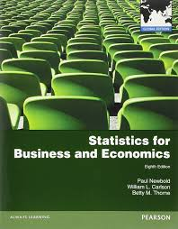 statistics for business and economics global edition amazon co