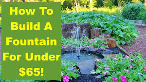 tips and ideas on how to build a backyard fountain for your garden