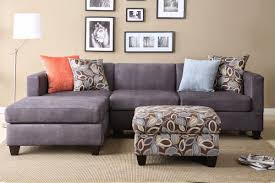furniture grey couch grey sectional couch with brown wall design