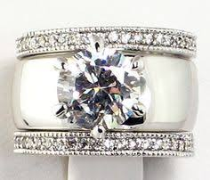 wide band engagement rings best 25 thick wedding bands ideas on wedding band