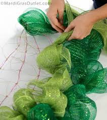 how to make mesh wreaths party ideas by mardi gras outlet summer watermelon wreath tutorial