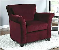 Burgundy Accent Chairs Living Room Coaster Accent Chair Burgundy Polyurethane