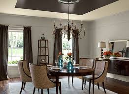 gray dining room ideas shimmery gray dining room paint color